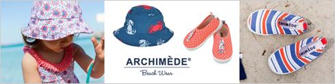 ベルギーリゾートブランド ベルギースウィムウェア ARCHIMEDE アルシメード
