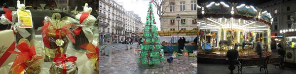 パリ蚤の市で見つけたクリスマスアクセサリー